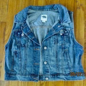 Retro Old Navy Jean Vest